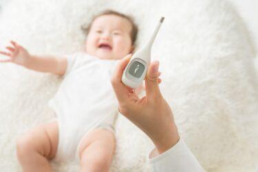非接触体温計TO-401で、嫌がる赤ちゃんの体温が1秒で計れます!